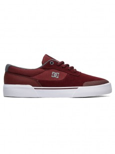 DC boty SWITCH PLUS S BURGUNDY