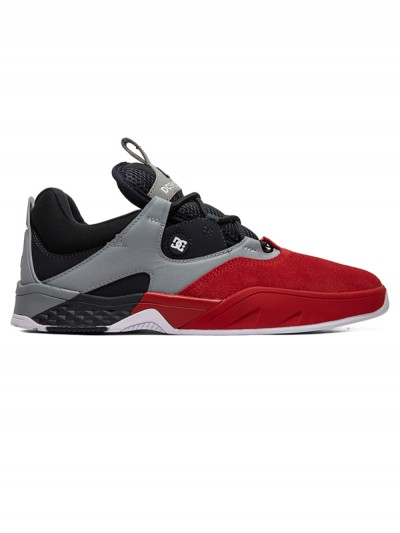 DC boty KALIS S RED/BLACK/GREY