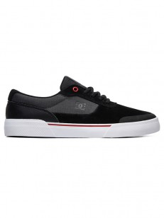 DC boty SWITCH PLUS S BLACK/ATHLETIC RED/WHITE