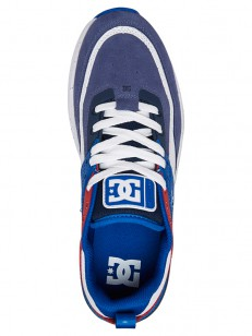 DC boty E.TRIBEKA SE BLACK/BLUE/RED