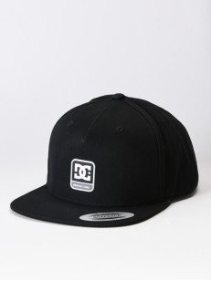DC kšiltovka SNAPDRAGGER BLACK