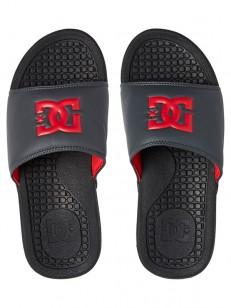 DC pantofle BOLSA BLACK/GREY/RED