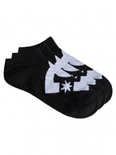 DC ponožky SPP DC ANKLE 3P BLACK