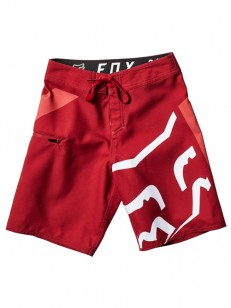 FOX koupací šortky STOCK Cardinal