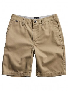 FOX kraťasy ESSEX Dark Khaki