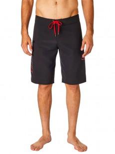FOX koupací šortky OVERHEAD Black/Red