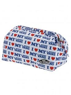 VANS toaletní taška DONE UP TRUE BLUE/VANS LOVE