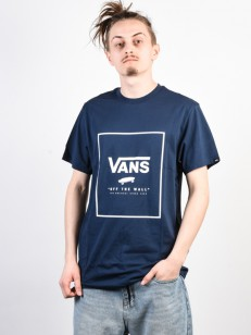 VANS triko PRINT BOX dress blues/white