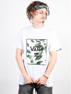 VANS triko PRINT BOX WHITE/RUBBER CO. FLORAL