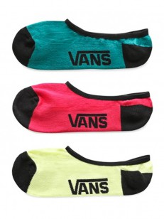 VANS ponožky CLASSIC SUPER NO SHOW SUNNY LIME