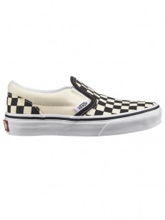 VANS boty CLASSIC SLIP-ON (Checkerboard) Black/Wht