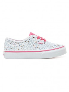 VANS boty AUTHENTIC (GLITTER STARS) TRUE WHIT