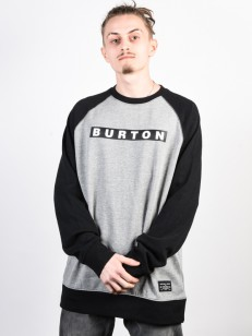 BURTON mikina VAULT GRAY HEATHER