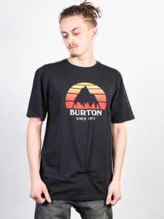 BURTON tričko UNDERHILL TRUE BLACK