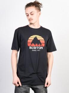 BURTON triko UNDERHILL TRUE BLACK