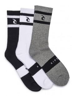 RIP CURL ponožky CORPO STRIPE CREW MULTICO