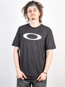 OAKLEY tričko O-BOLD ELLIPSE BLACKOUT LT HTR