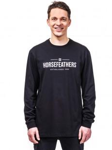 HORSEFEATHERS triko MELWILL black
