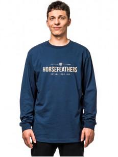HORSEFEATHERS triko MELWILL indigo