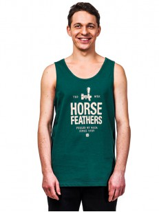 HORSEFEATHERS tílko SPIGOT bistro green