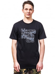 HORSEFEATHERS triko BALANCE black
