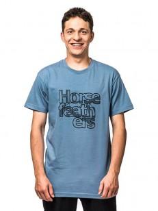HORSEFEATHERS triko BALANCE blue shadow