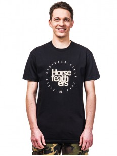 HORSEFEATHERS triko DENK black
