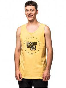 HORSEFEATHERS tílko EMBLEM buff yellow