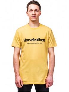 HORSEFEATHERS triko QUARTER buff yellow
