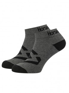 HORSEFEATHERS ponožky NORM dark melange