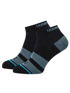HORSEFEATHERS ponožky RUFUS black