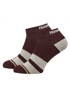 HORSEFEATHERS ponožky RUFUS ruby