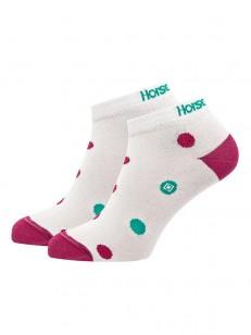 HORSEFEATHERS ponožky ARIEL white