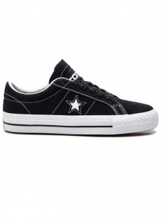 CONVERSE boty ONE STAR PRO (REFINEMENT) Black/Whit