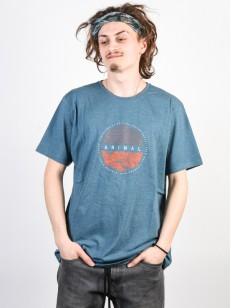 ANIMAL tričko LAMARY Tapestry Blue Marl