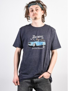 ANIMAL tričko TRIP Dark Navy Marl