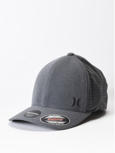 HURLEY kšiltovka PHNTM RIPSTOP Black Heather