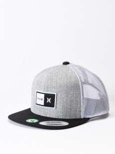 HURLEY kšiltovka NATURAL Cool Grey