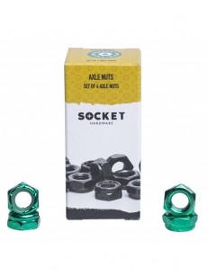 SOCKET matky AXLE NUTS green