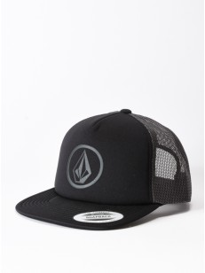 VOLCOM kšiltovka FULL FRONTAL CHEESE Asphalt Black