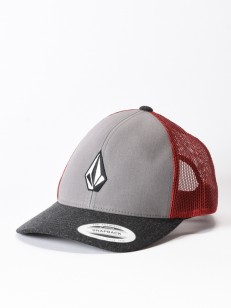 VOLCOM kšiltovka FULL STONE CHEESE Burgundy