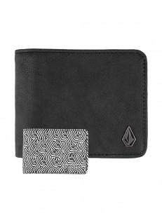 VOLCOM peněženka 3IN1 Black