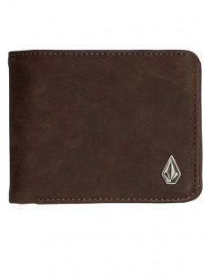 VOLCOM peněženka 3IN1 Brown