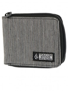 VOLCOM peněženka FULL ZIP Black