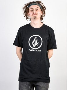 VOLCOM tričko CRISP STONE BSC Black