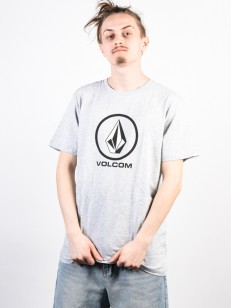 VOLCOM triko CRISP STONE BSC Heather Grey