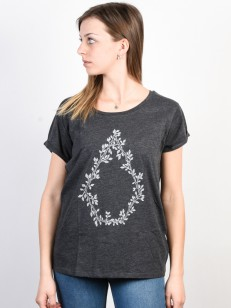 VOLCOM tričko RADICAL DAZE Charcoal