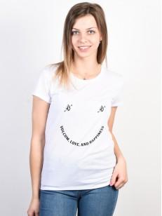 VOLCOM tričko EASY BABE RAD 2 White