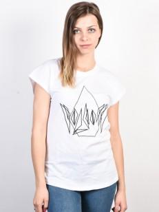VOLCOM tričko DARE White