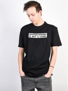 SANTA CRUZ triko NOT A CRIME Black